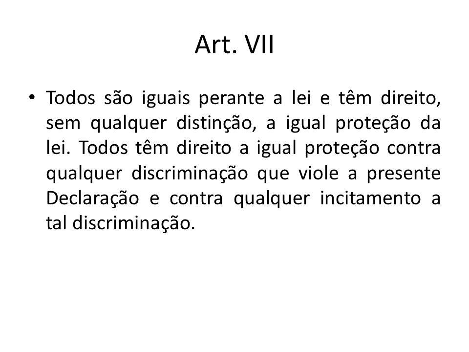 Art. VII