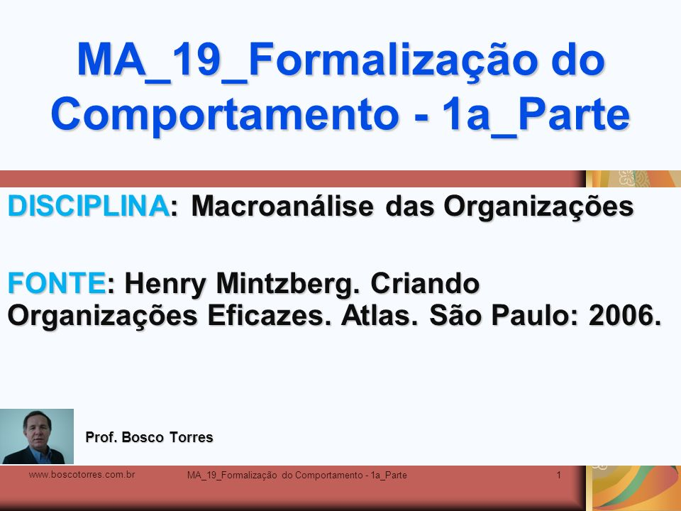 MA_19_Formalização do Comportamento - 1a_Parte