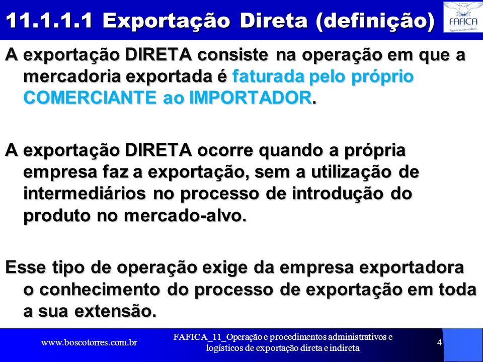 11.1.1.1 Exportação Direta (definição)