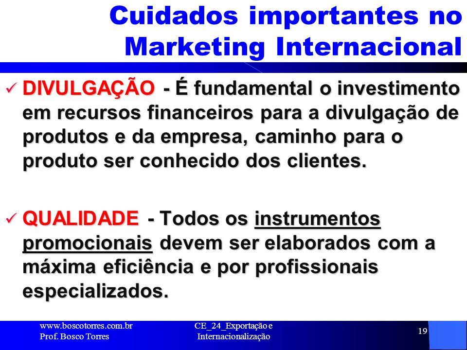 Cuidados importantes no Marketing Internacional