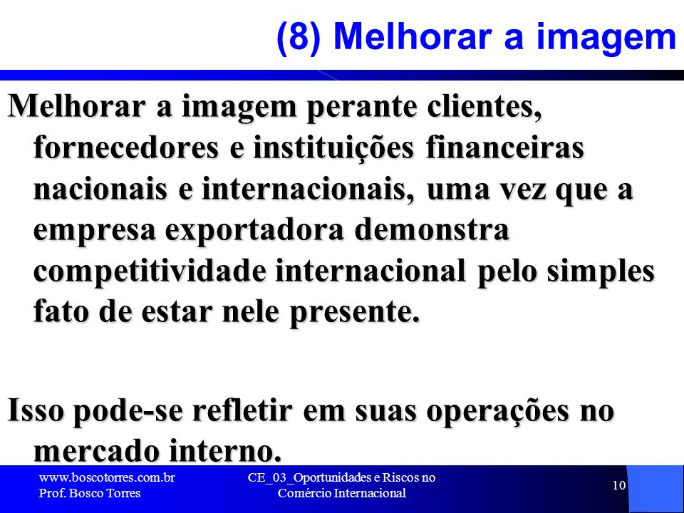 CE_03_Oportunidades e Riscos no Comércio Internacional