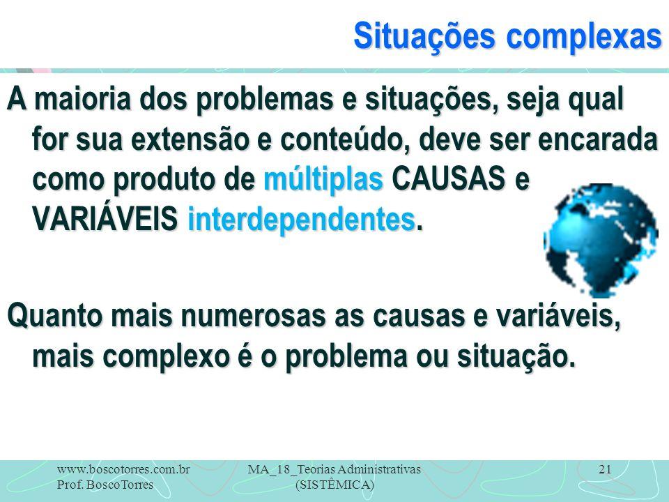 MA_18_Teorias Administrativas (SISTÊMICA)