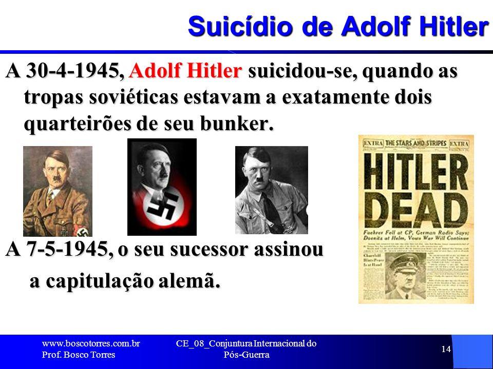 Suicídio de Adolf Hitler