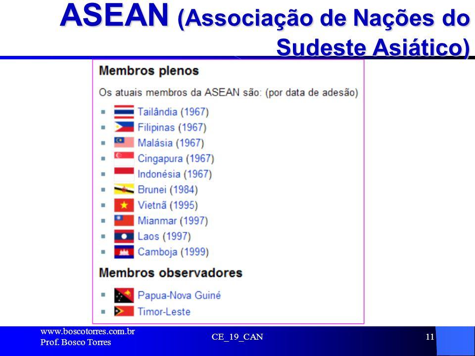 ASEAN (Associação de Nações do Sudeste Asiático)