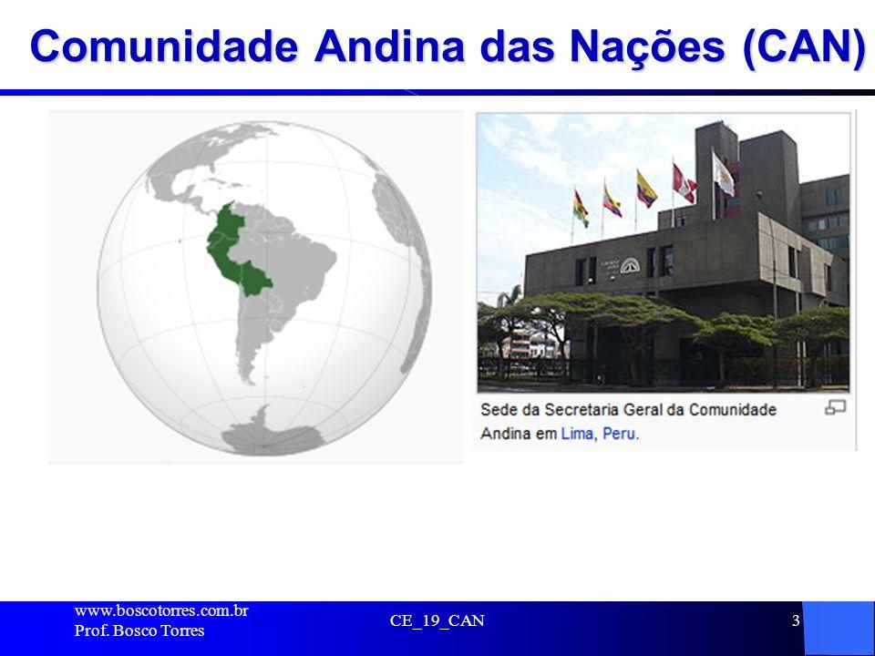Comunidade Andina das Nações (CAN)
