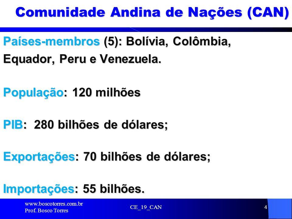 Comunidade Andina de Nações (CAN)