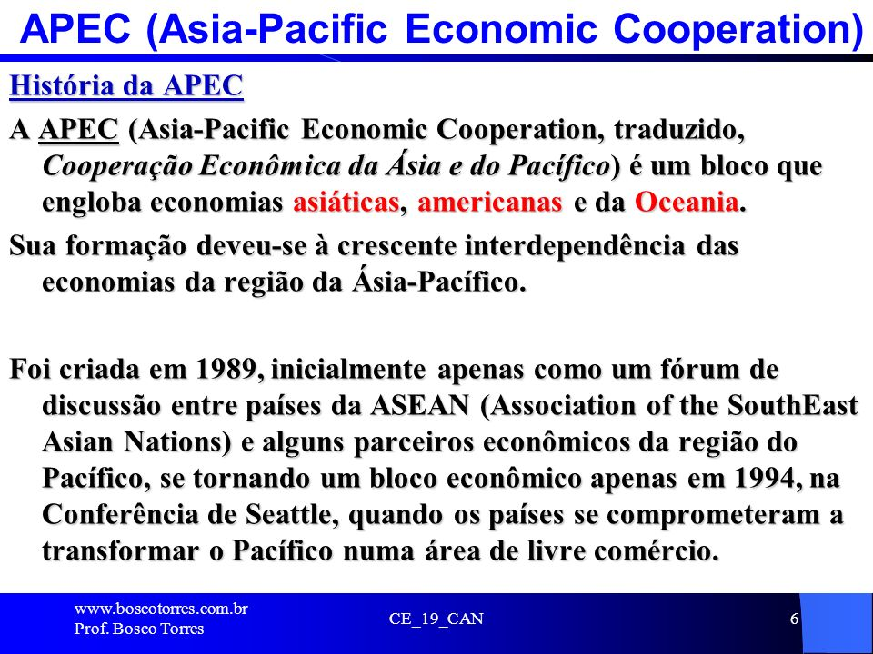 APEC (Asia-Pacific Economic Cooperation)