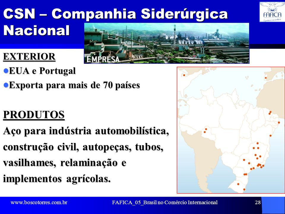 CSN – Companhia Siderúrgica Nacional