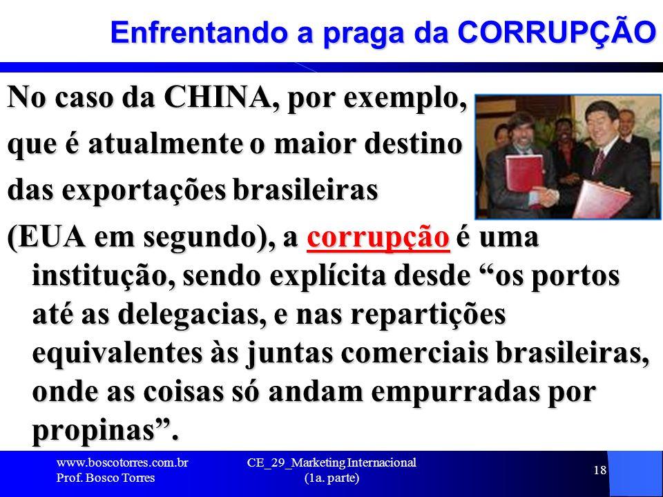 Enfrentando a praga da CORRUPÇÃO