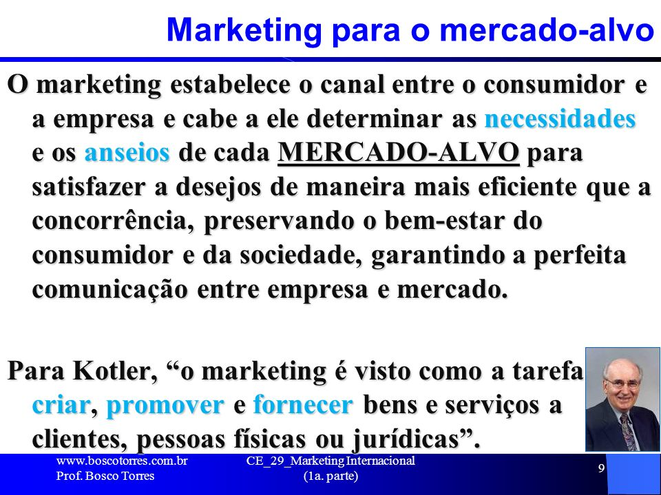 Marketing para o mercado-alvo