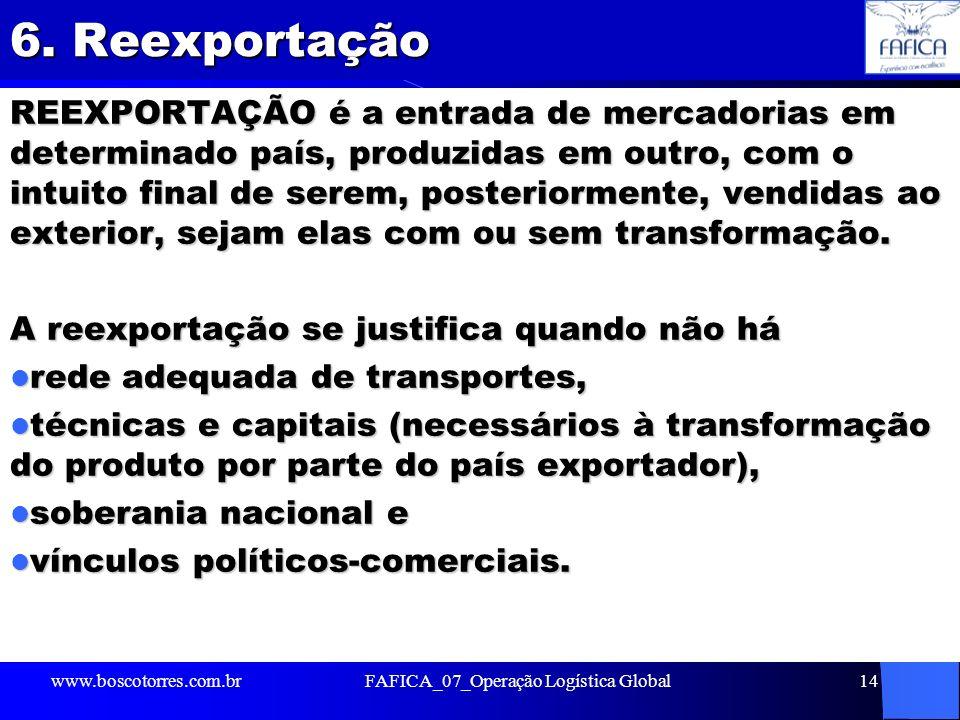 FAFICA_07_Operação Logística Global