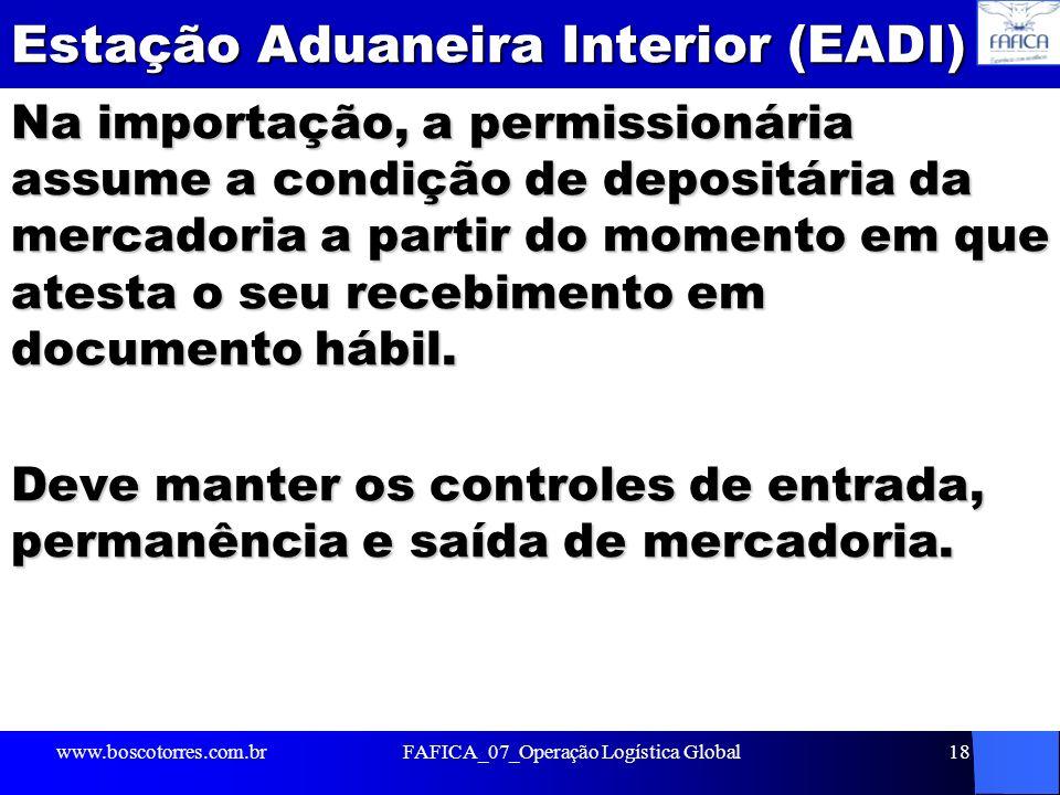 Estação Aduaneira Interior (EADI)