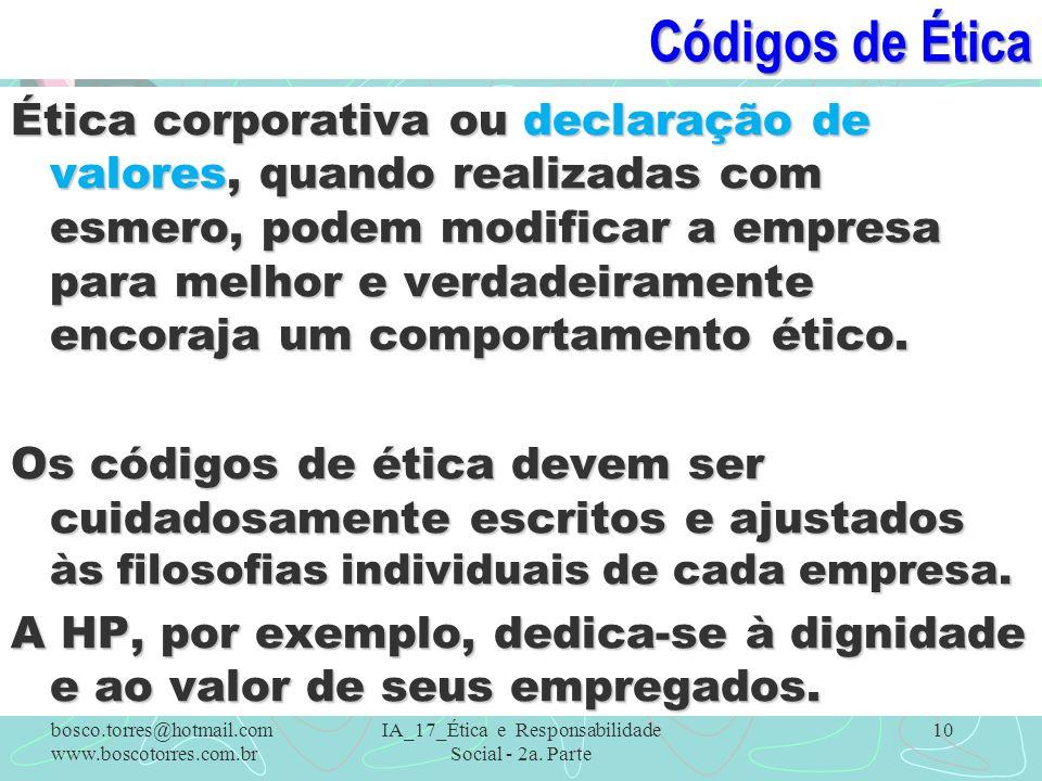 IA_17_Ética e Responsabilidade Social - 2a. Parte