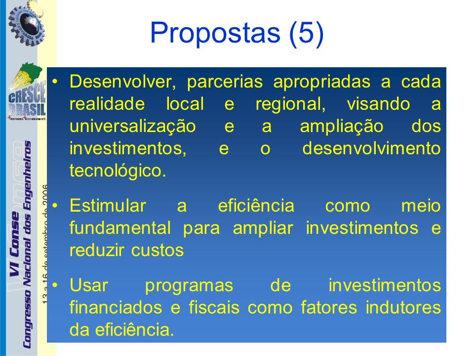 Propostas (5)