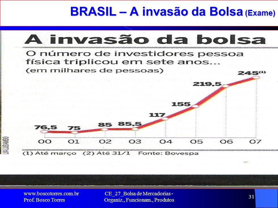 BRASIL – A invasão da Bolsa (Exame)