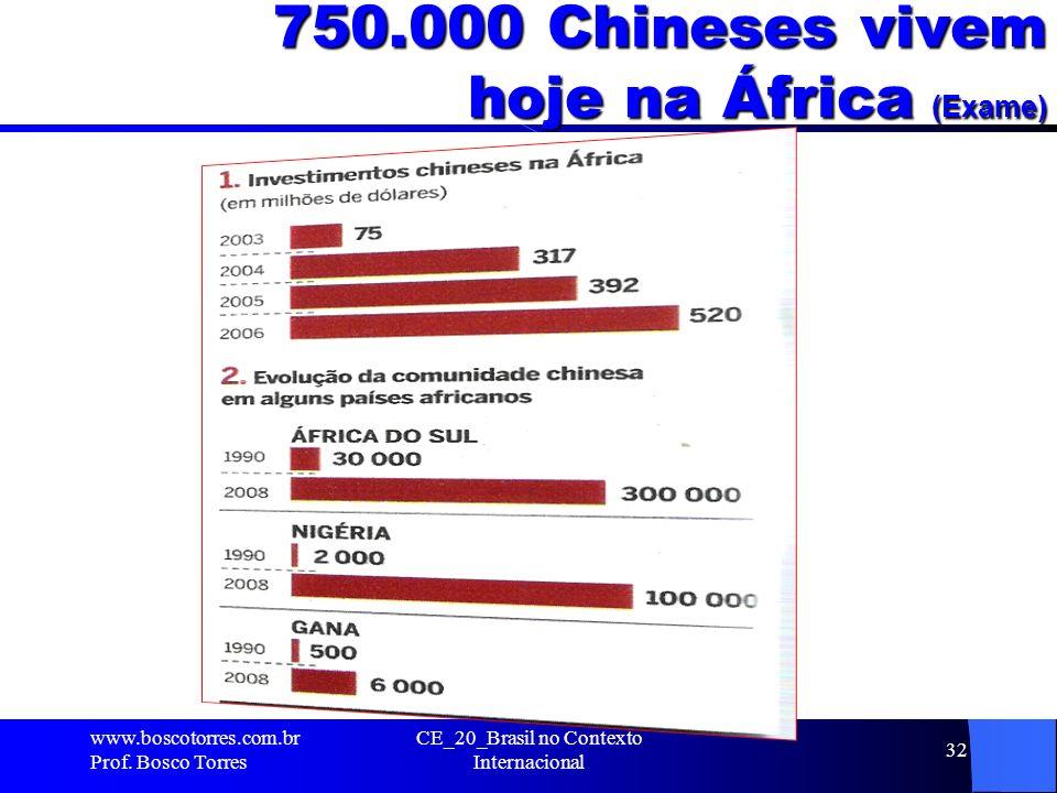 750.000 Chineses vivem hoje na África (Exame)