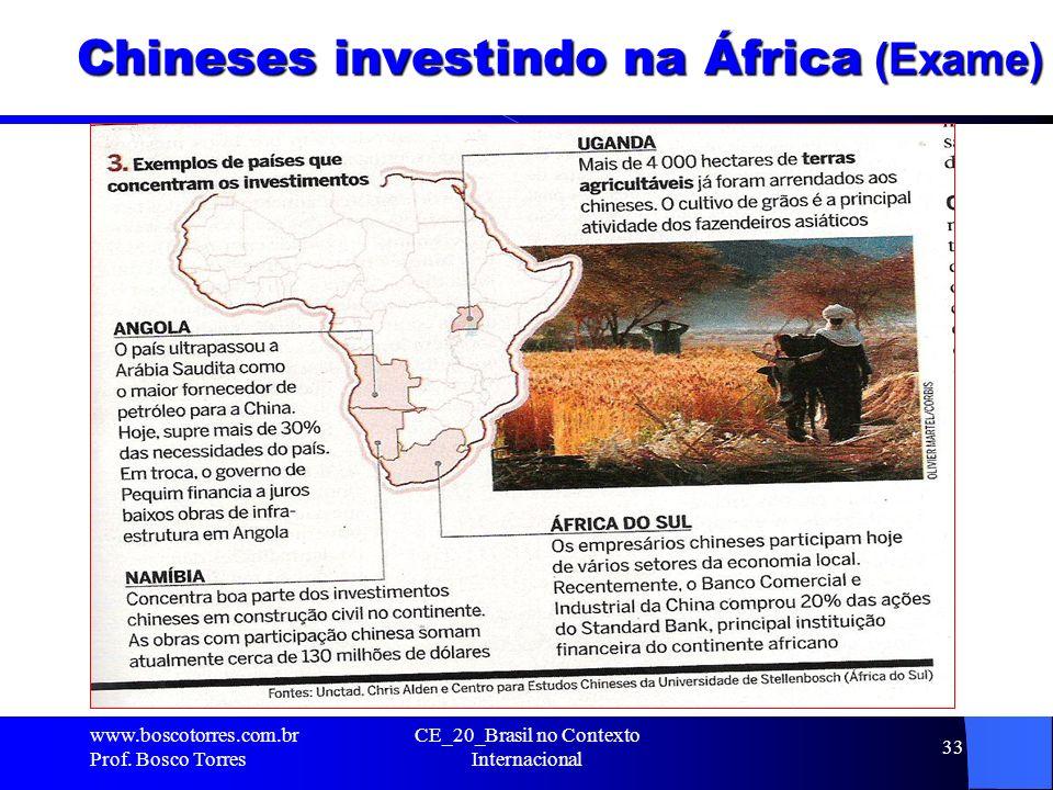 Chineses investindo na África (Exame)