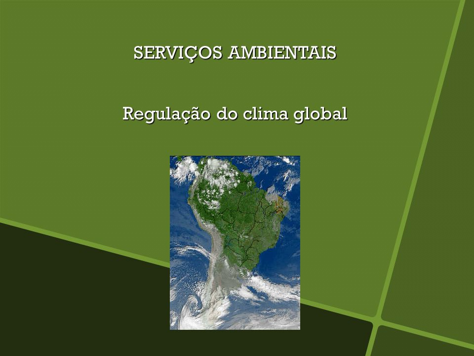 Regulação do clima global