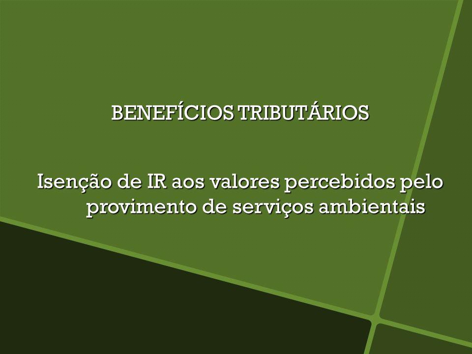 BENEFÍCIOS TRIBUTÁRIOS