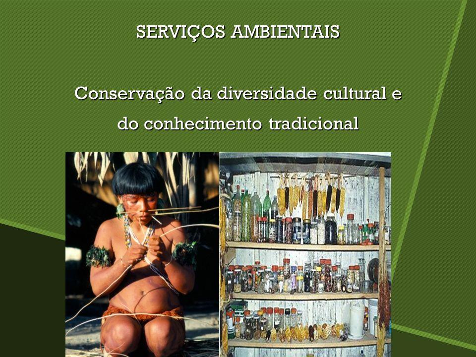Conservação da diversidade cultural e do conhecimento tradicional