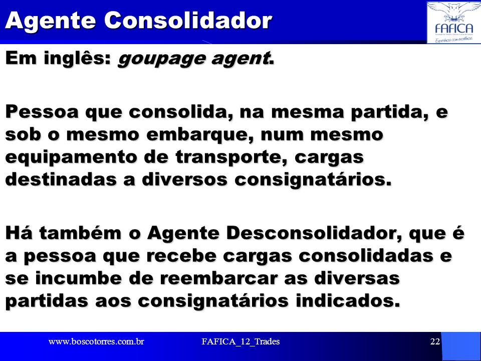Agente Consolidador