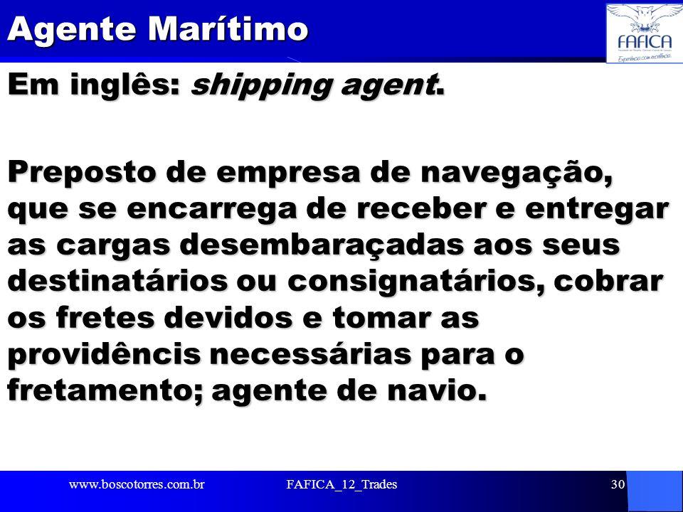 Agente Marítimo