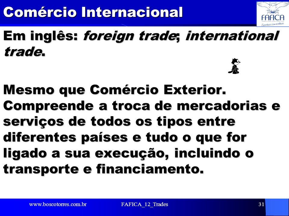 Comércio Internacional