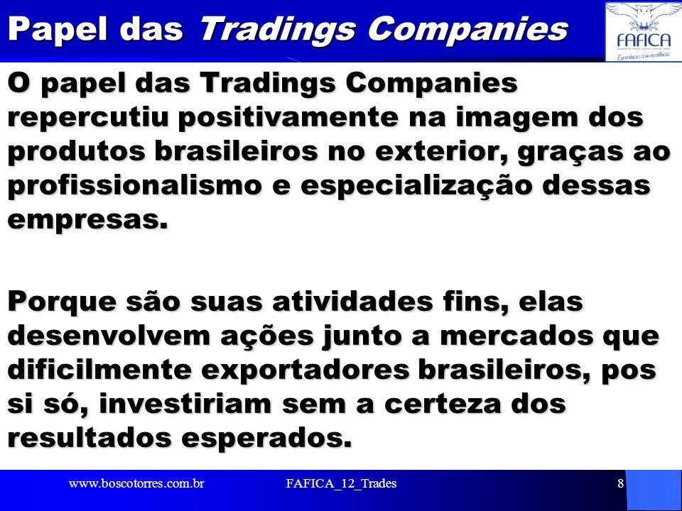 Papel das Tradings Companies