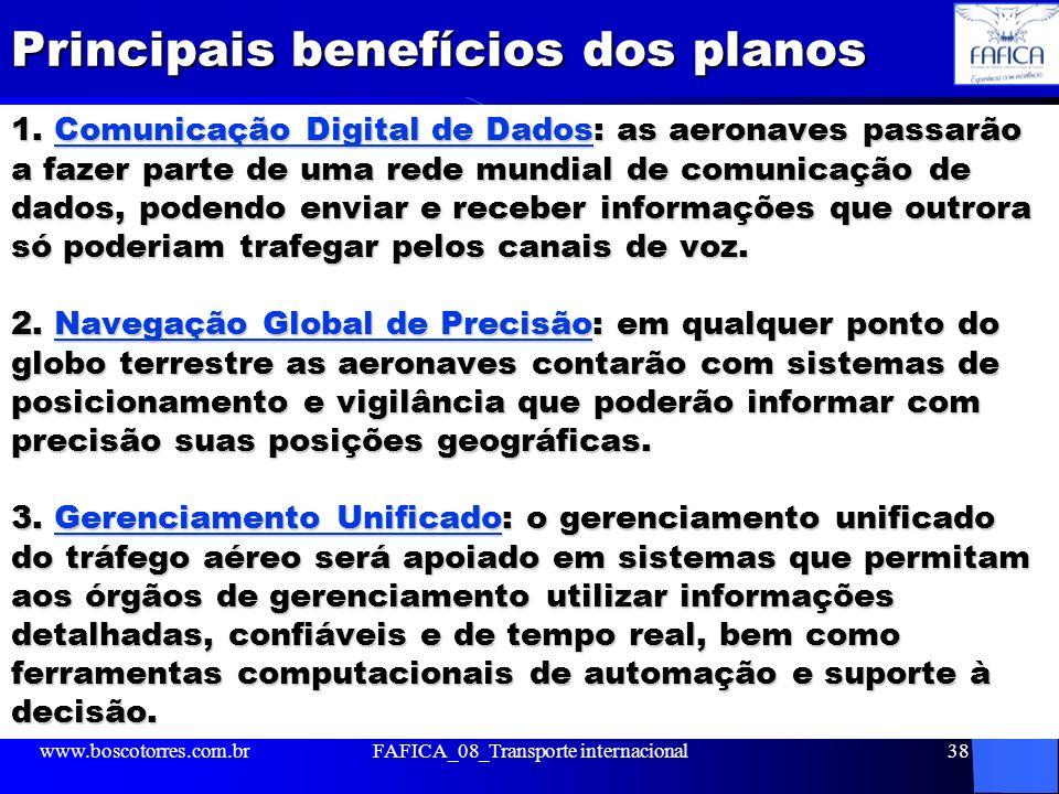 Principais benefícios dos planos