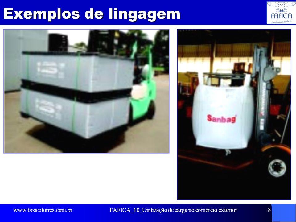 FAFICA_10_Unitização de carga no comércio exterior