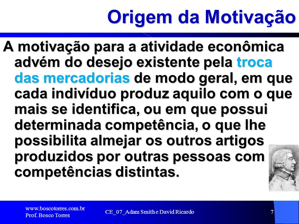 CE_07_Adam Smith e David Ricardo