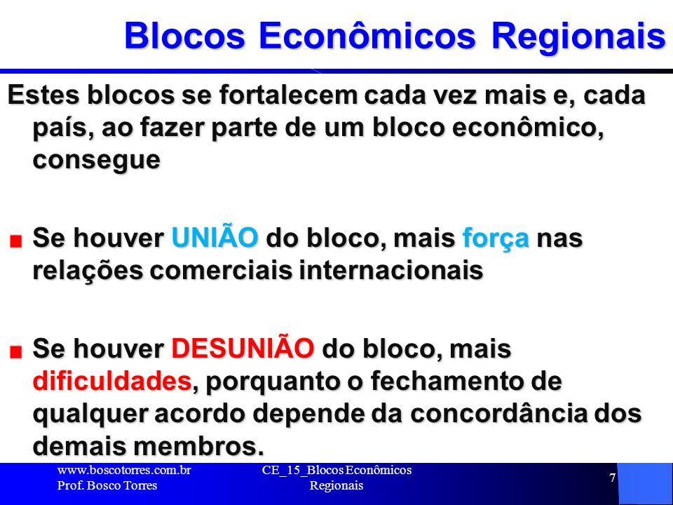 Blocos Econômicos Regionais