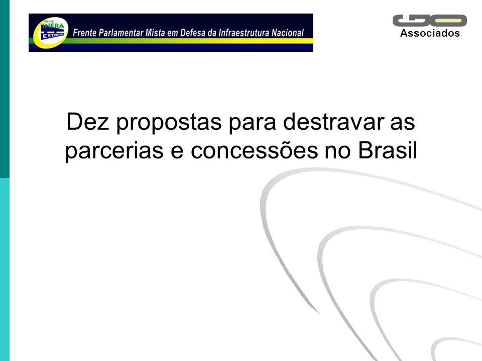 Dez propostas para destravar as parcerias e concessões no Brasil