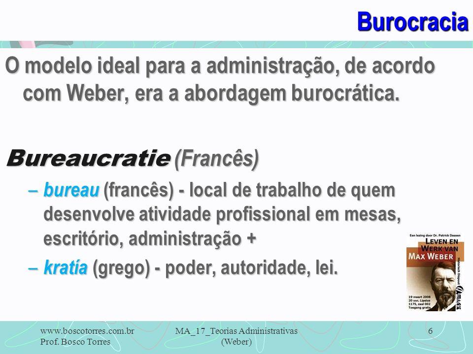 MA_17_Teorias Administrativas (Weber)