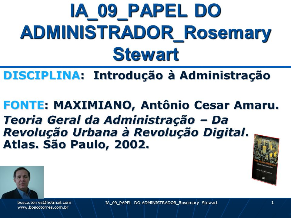 IA_09_PAPEL DO ADMINISTRADOR_Rosemary Stewart