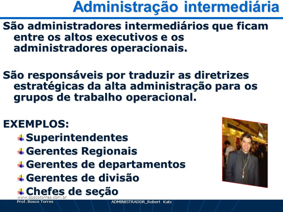 Administração intermediária
