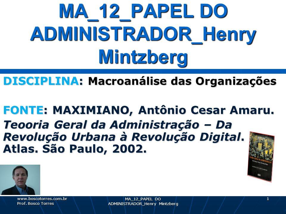 MA_12_PAPEL DO ADMINISTRADOR_Henry Mintzberg