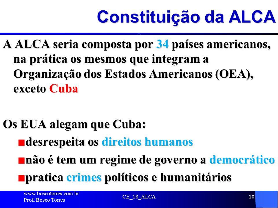 Constituição da ALCA