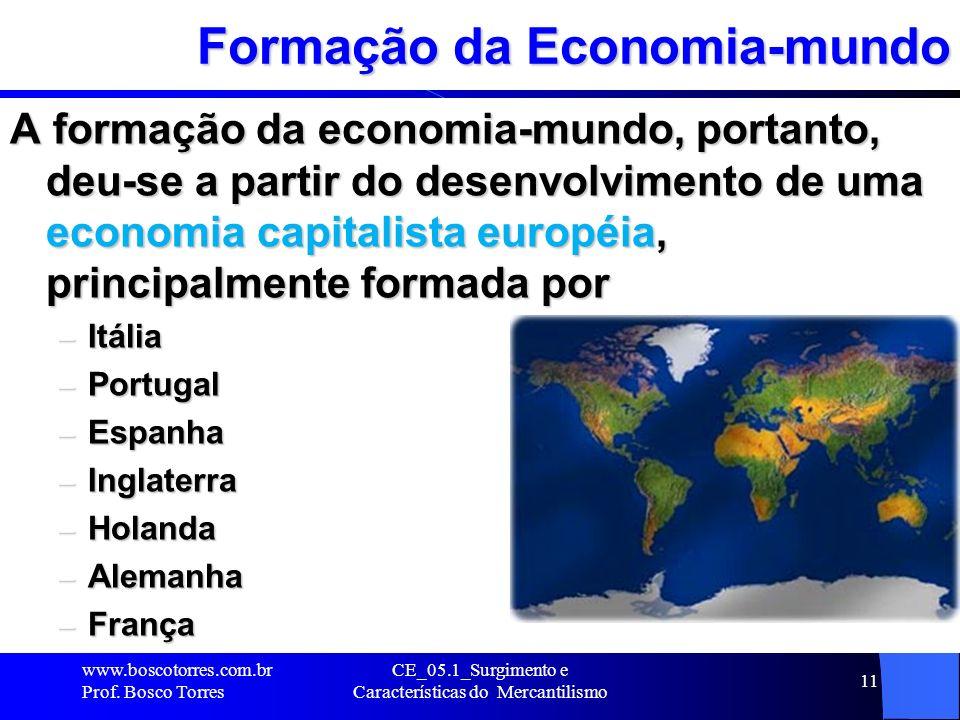 Formação da Economia-mundo