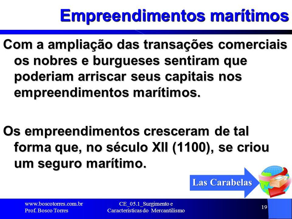 Empreendimentos marítimos