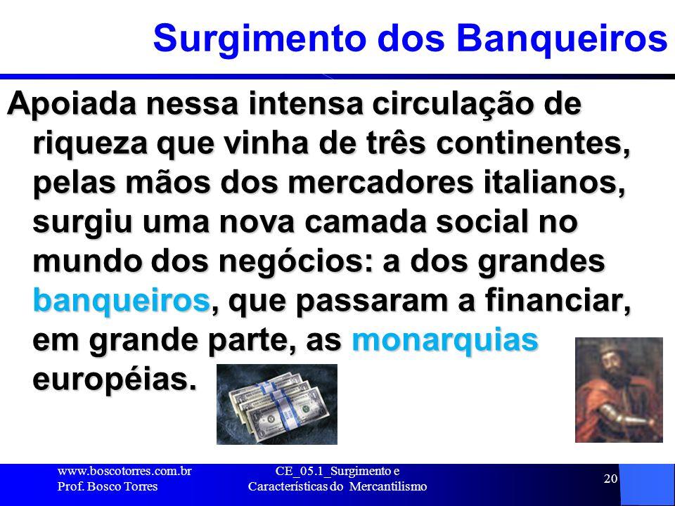 Surgimento dos Banqueiros