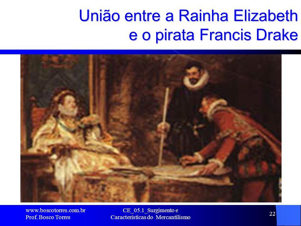 União entre a Rainha Elizabeth e o pirata Francis Drake