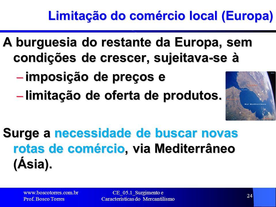 Limitação do comércio local (Europa)
