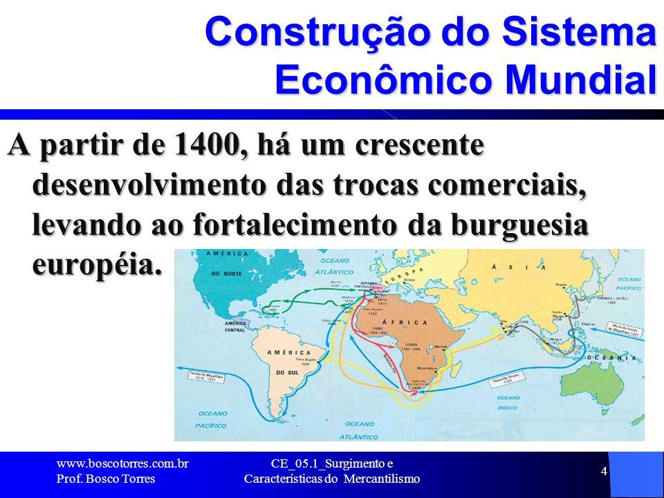 Construção do Sistema Econômico Mundial