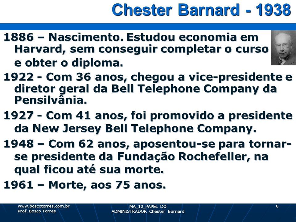 MA_10_PAPEL DO ADMINISTRADOR_Chester Barnard