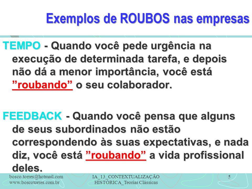 Exemplos de ROUBOS nas empresas