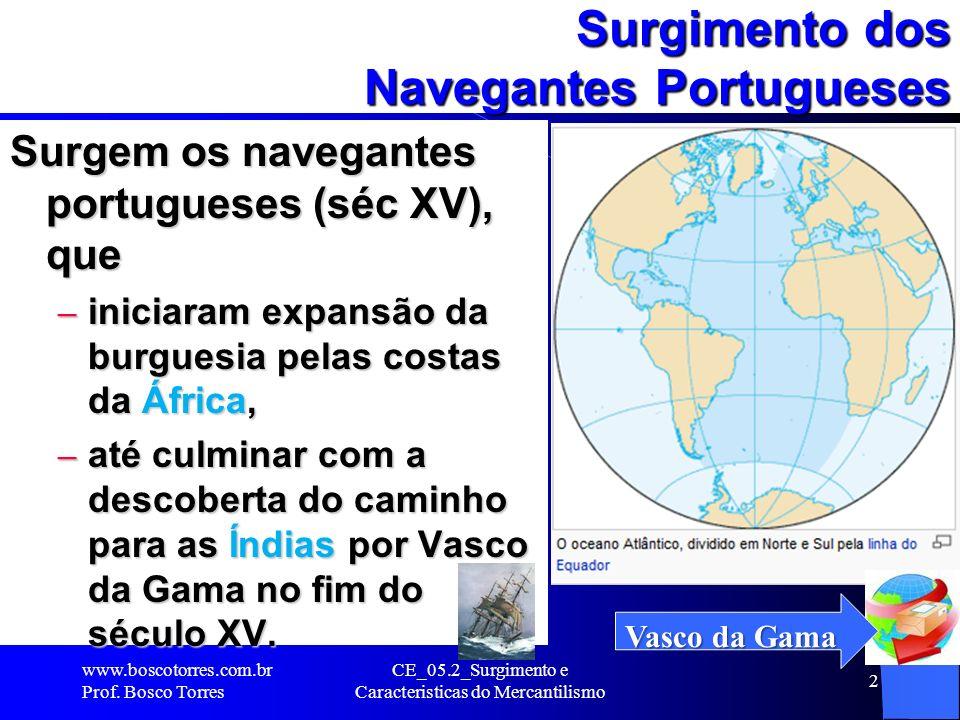 Surgimento dos Navegantes Portugueses