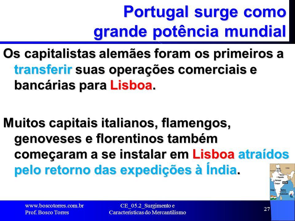 Portugal surge como grande potência mundial