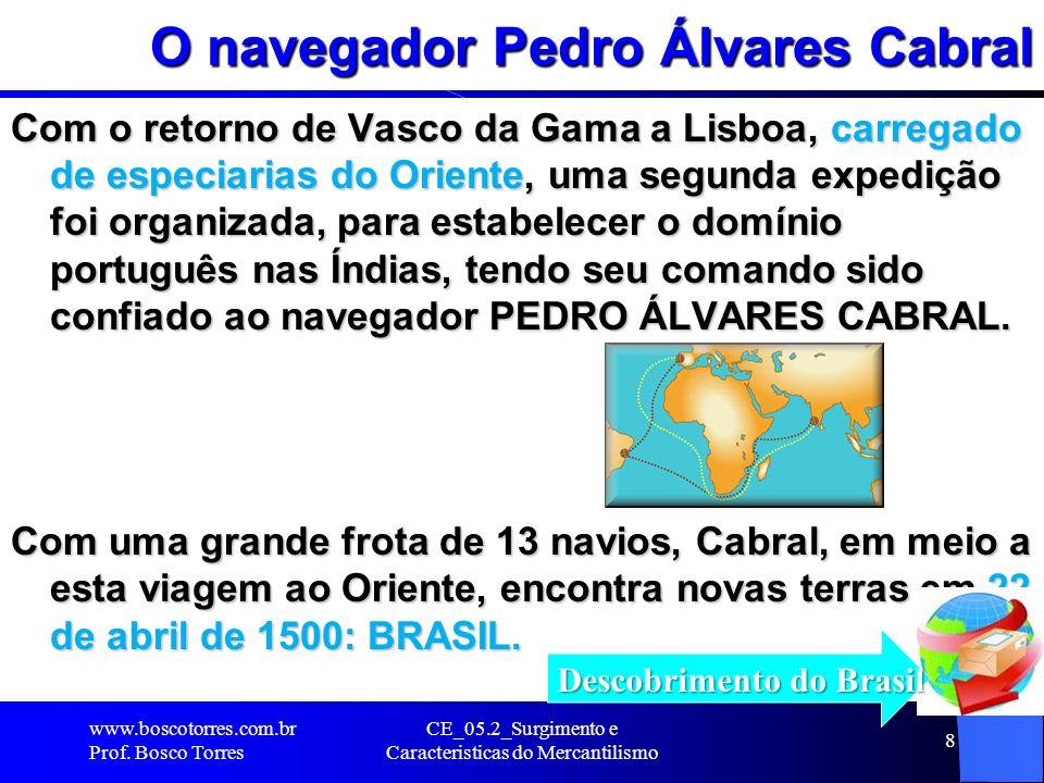 O navegador Pedro Álvares Cabral