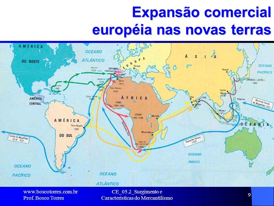 Expansão comercial européia nas novas terras